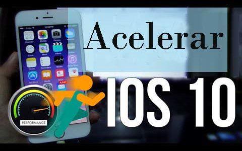 Topo 10 Métodos gratuitos para acelerar iOS lento 10, iOS 10.1 no iPhone iPad