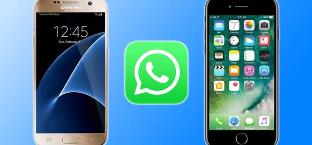 Como Transferir Mensagens do WhatsApp do Android para o iPhone 6