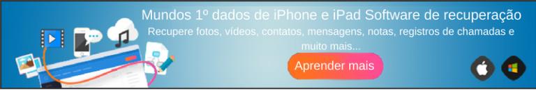 Tentar iOS Dados Recuperação Agora