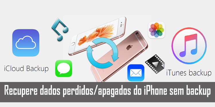 Recupere dados apagados do iPhone sem backup