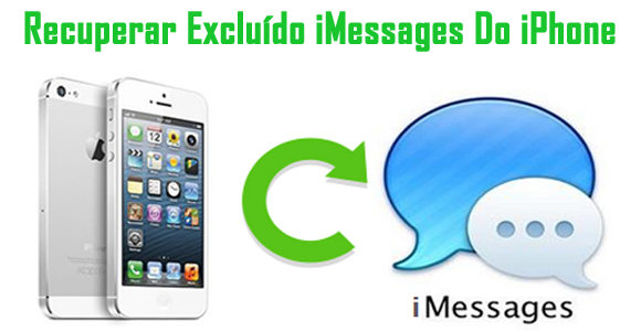 Como recuperar iMessages excluídos ou perdidos do iPhone
