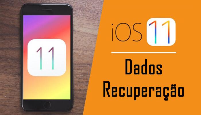 iOS 11 Dados Recuperação