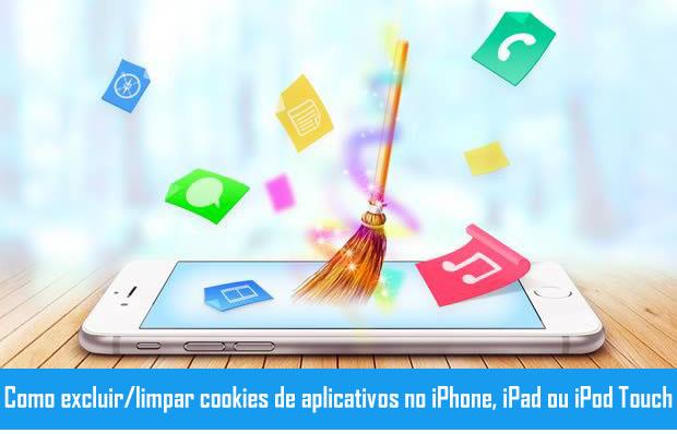 Limpar cookies de aplicativos no iPhone