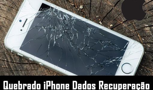 Quebrado iPhone Dados Recuperação: recuperar dados do iPhone quebrado