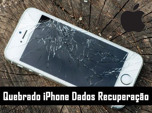 Quebrado iPhone Dados Recuperação