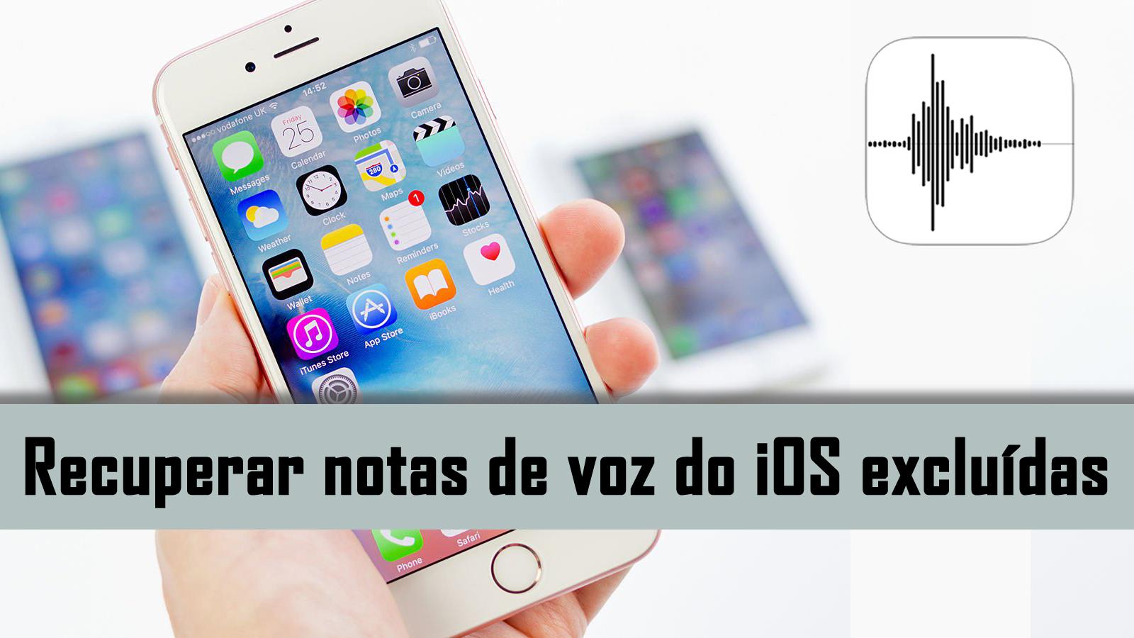 b85d6d6446e Aprenda três maneira mais fácil de recuperar perdido, apagado, apagado ou  falta memorandos de voz do iPhone, iPad e iPod Touch!